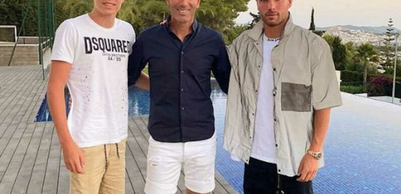 Zinédine Zidane : son fils Luca partage ses derniers instants de vacances avec son père et sa mère à Ibiza (PHOTOS)