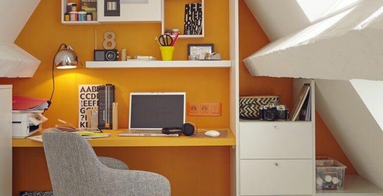 Combles, salon, entrée… Nos conseils pour aménager un bureau