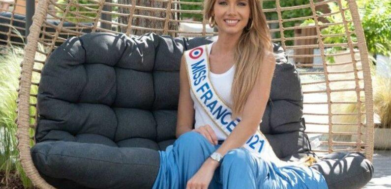 Comment l'actuelle Miss France, Amandine Petit, vient d'épater la Toile dans un petit maillot de bain : cet atout qu'elle nous avait caché !