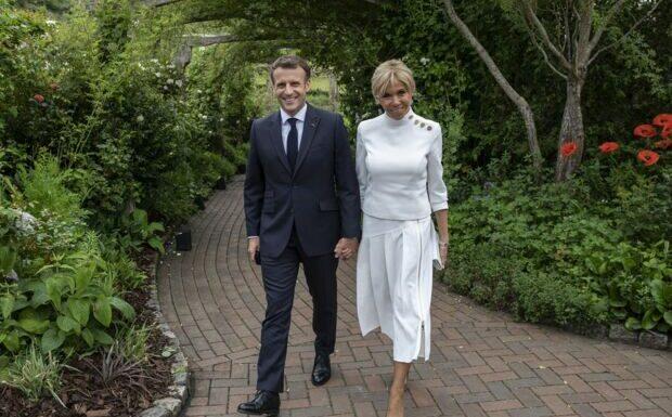 Emmanuel et Brigitte Macron en vacances: leur sortie en toute décontraction