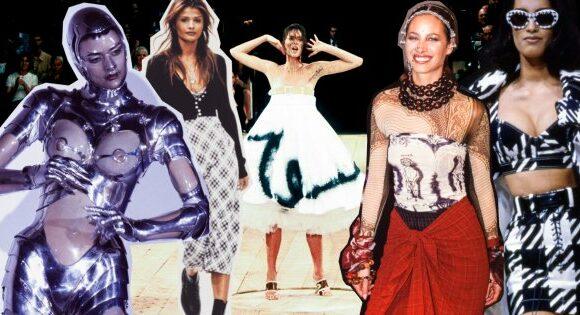 Les défilés de mode les plus marquants des années 90