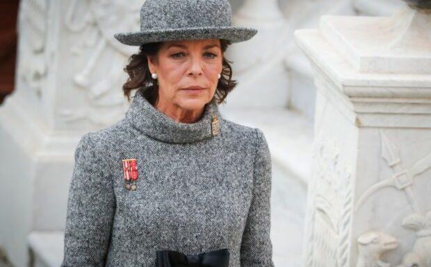 PHOTO – Caroline de Monaco émue pour un dernier adieu à Marie de Liechtenstein