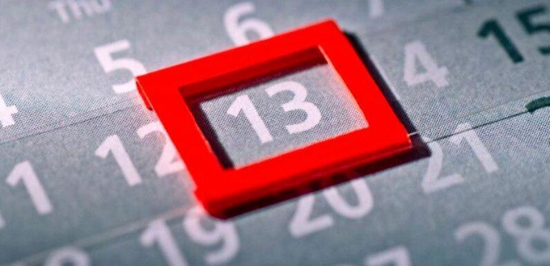 Vendredi 13 : ce jour est particulièrement craint par 3 signes du zodiaque
