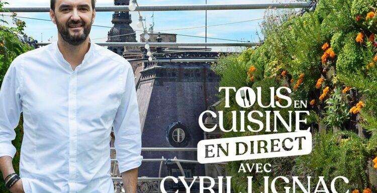 """""""Tous en cuisine"""" : la liste des ingrédients et les recettes de Cyril Lignac du 23 au 27 août 2021"""