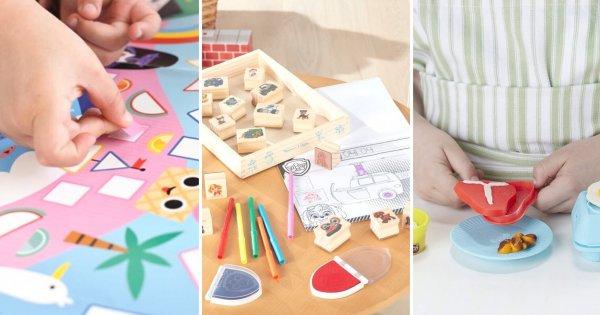 27 jeux créatifs pour les enfants de 3-4 ans