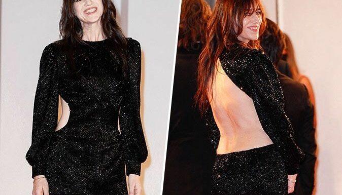 Charlotte Gainsbourg : malgré l'AVC de sa mère Jane Birkin, elle apparaît sexy et scintillante à la 78e édition de la Mostra