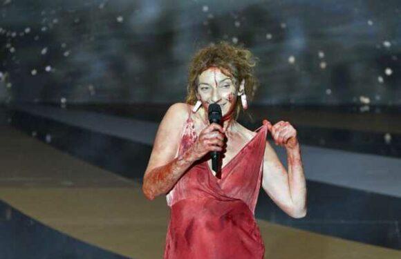 Corinne Masiero nue aux César: pour Laurent Lafitte, «elle a été courageuse»