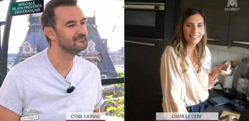 Cyril Lignac fiancé ! Camille Cerf en dit trop sur le couple du cuisinier et crée un malaise