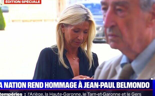 Hommage à Jean-Paul Belmondo: Natty très affectée