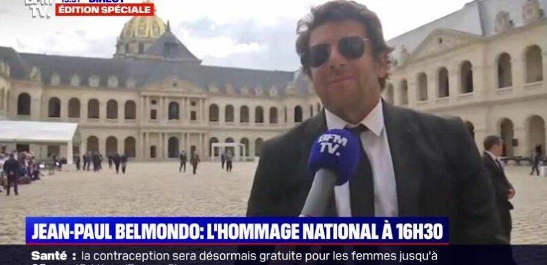 Hommage à Jean-Paul Belmondo : cette grosse gaffe de Patrick Bruel en plein direct