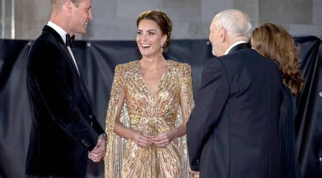 Kate Middleton était royale à l'avant-première du nouveau James Bond