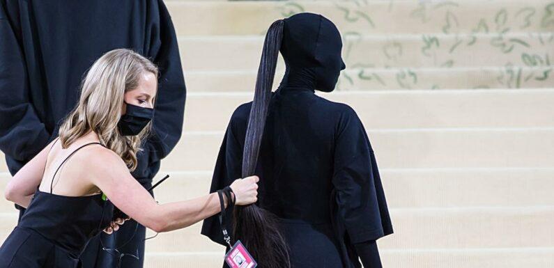 Kim Kardashian et l'incroyable queue de cheval à 10.000 dollars