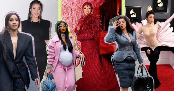 Le style de Cardi B, le caméléon du fashion game