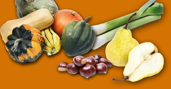 Les bienfaits des aliments de saison du mois d'octobre