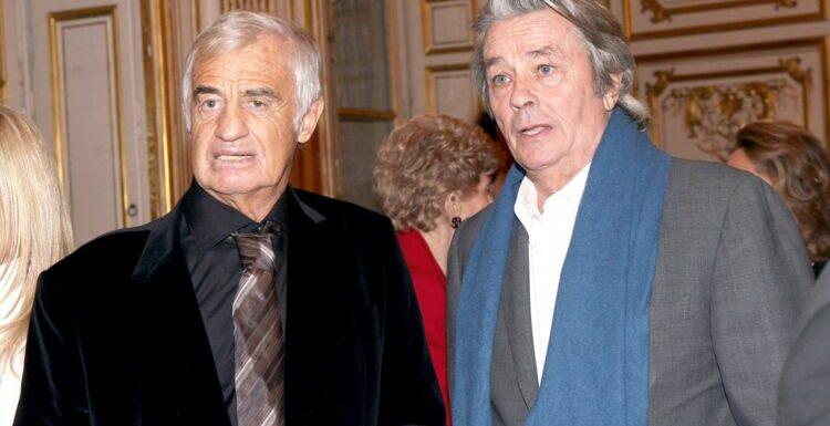 """Mort de Jean-Paul Belmondo : Anthony Delon revient sur la """"rivalité"""" entre l'acteur et son père Alain Delon"""