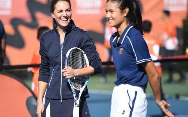 PHOTOS – Kate Middleton en mode sportive: son duo vitaminé avec une championne de tennis