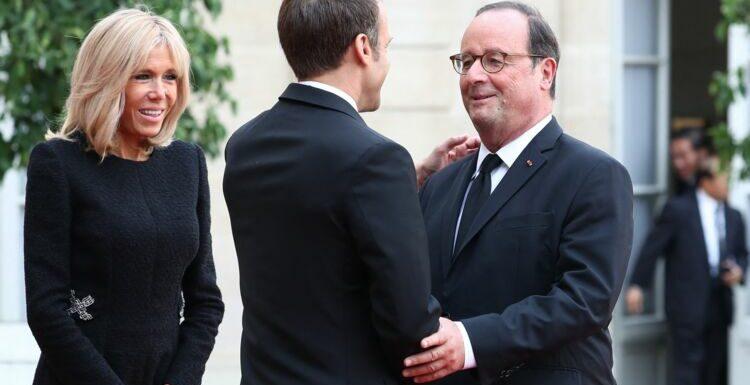 """Brigitte Macron """"furieuse"""" : ce dîner avec François Hollande qui a mal tourné"""