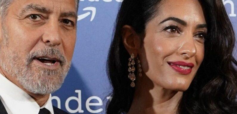 """George Clooney """"honteux"""" : Ce film qu'il ne veut ABSOLUMENT PAS que sa femme à Amal et ses enfants voient…"""