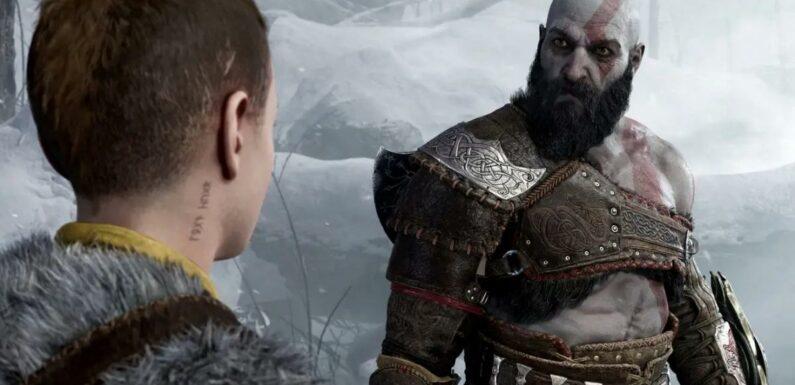 God of War Ragnarök : un clin d'œil au jeu de 2018 s'est glissé dans le trailer