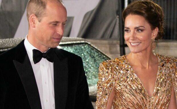 Kate Middleton et William: ce protocole rompu durant l'avant-première de James Bond