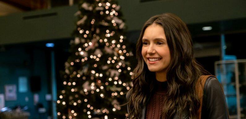 Netflix dévoile les premières images de sa comédie de Noël avec Nina Dobrev et Darren Barnet