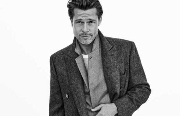 PHOTOS – Brad Pitt mannequin: il pose pour une collection capsule Brioni automne-hiver 2021/2022