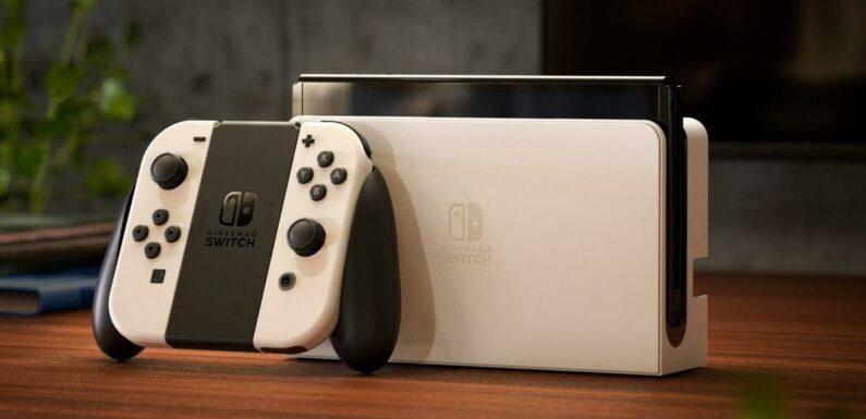 Test Nintendo Switch OLED : Une console plus agréable que sa grande soeur