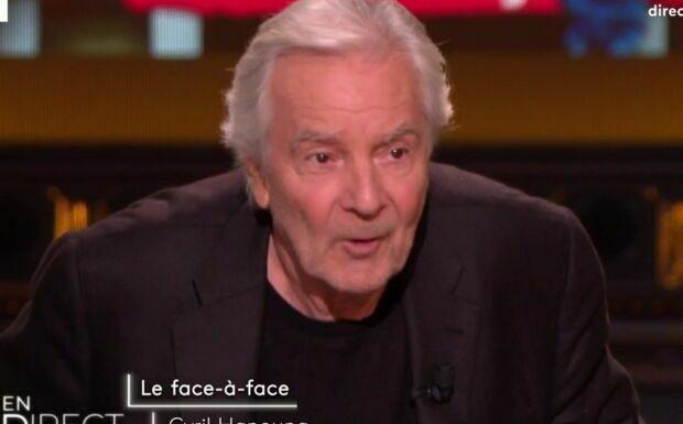 VIDÉO – «Ça m'exaspère… j'en ai marre»: coup de gueule de Pierre Arditi face à Cyril Hanouna